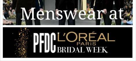 Menswear PFDC PLBW 2013